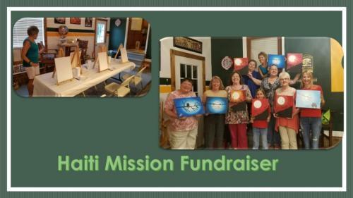 Painting for Haiti