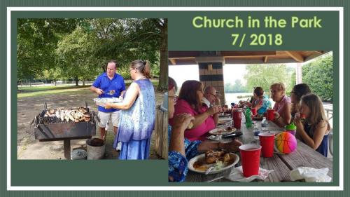 Worship in the Park 2018