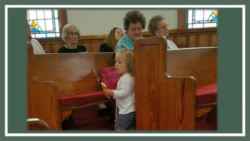 Our little ones in church