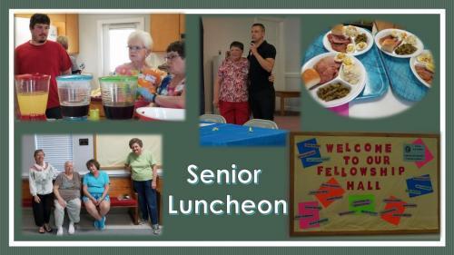 Monthly Senior Luncheon